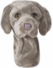 Weimaraner Dog Golf Animal Headcover Driver Head Cover Daphnes Golf Club Cover