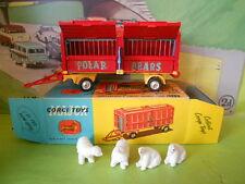 CORGI TOYS CHIPPERFIELDS ANIMAL CAGE POLAR BEARS MINT BOXED