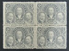 nystamps China Stamp # 245 Mint OG NH Rare In Block Paid $60   L30y3202