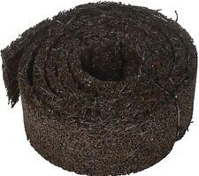 Recycled Rubber Permanent Garden Mulch Border, 120 L x 4.50 W, Black
