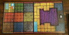 1992 Mattel Dark World Board Game RPG Replacement Part Game Board