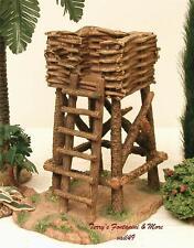 "Fontanini Italy 5"" Rustic Watchtower Village Nativity Accessory 55583 Nib"