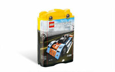 Lego Blue Bullet (8193) Racer Race Car Construction Building Block Toy Set NIB