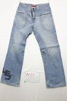 Levi's engineered 679 boyfriend jeans usato (Cod.J420) Tg.42 W28 L32