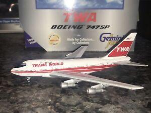 Gemini Jets 1/400 TWA Boeing 747SP GJTWA266