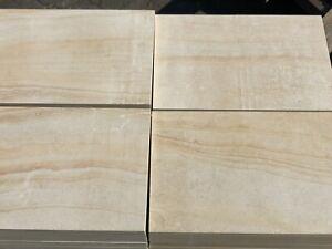 Natursteinplatten 60x40x2cm Sandstein Hofplatten Pflasterstein Terrassenplatten