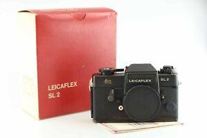 Leica 10022 Leicaflex SL2 SL 2 Body Gehäuse black Leitz 88756