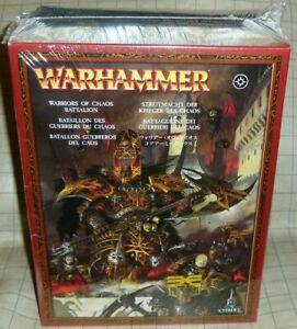 Warhammer Warriors of Chaos Batallion NIB OOP - AOS Slaves to Darkness