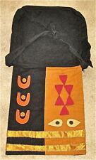 Applique cloth shoulder bag with exotic designs