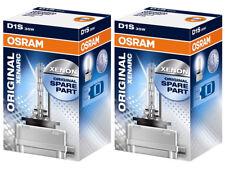 2x NEW OSRAM XENARC OEM D1S 66146 66144 XENON HID HEADLIGHT BULBS | PACK OF 2