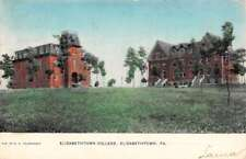 Elizabethtown Pennsylvania College Street View Antique Postcard K102529