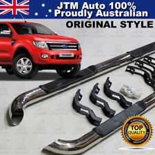 """Running Boards Side Steps 3"""" Stainless Steel to suit Ford Ranger PX 2011-2015"""
