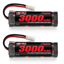 Venom 7.2V 3000mAh 6 Cell NiMH Battery for Roto Start and Starter Boxes x2 Packs