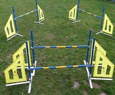 Hundesport Agility Set / 6er KOMBI Fun & Action Agility Set von Callieway®
