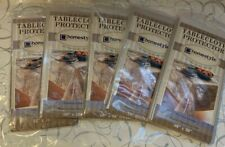 CLEAR PLASTIC  TABLECLOTH PROTECTOR {homestyle ESSENTIALS} PROTECTS LINENS