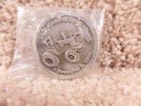 Vintage Toy Farmer Publications November 3, 1995 Sliver Coin New In Bag