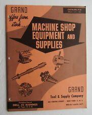 Catalog For Grand Tool & Supply Co. 1963 Catalog P-14