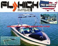 FLY HIGH PRO X SERIES WAKEBOARD BOAT TOWER STAINLESS STEEL W2923 NEW SHIPS FREE!