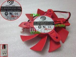 Power Logic graphics card fan DC12V 0.35A PLA08015S12HH 2-Pin