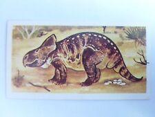 Brooke Bond Prehistoric Animals tea card 25. Protoceratops. Dinosaurs.