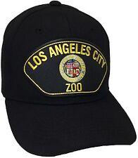 City Of Los Angeles ZOO Hat Color Black Adjustable