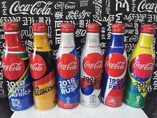 rare japan coca cola The World Cup Aluminum bottle empty of 6