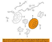 VOLVO OEM 07-16 S80 Rear Brake-Rotor 31471832