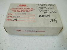 Abb S100501 Driver Module *New In Box*
