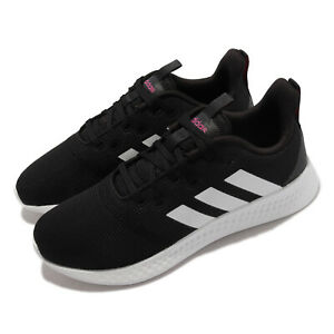 adidas Puremotion Black White Pink Women Running Sports Shoes Sneakers H00589