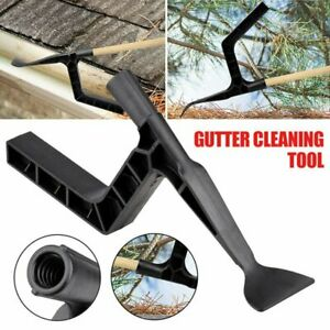 Gutter Clean Tool Garden Leaf Cleaning Scoop Roof Behind Skylight Shovel VC