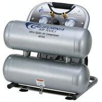 California Air Tools CAT-4610S 1 HP 4.6 gal Twin Stack Air Compressor New