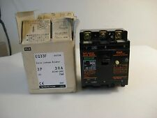 (H5) Fuji Earth Leakage Circuit Breaker, EG33F, EB3AEF-30A, New