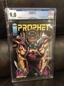 Prophet 1 cgc 9.0 Image 1993 1st solo series Prophet 0 coupon included W/P