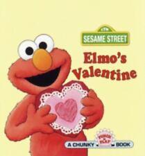 A Chunky Book(R): Elmo's Valentine by Stephanie S. Pierre (1997, Board Book)