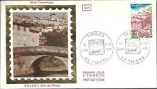 1904+ FDC  ENVELOPPE 1er JOUR  CEF.    SERIE TOURISTIQUE  THIERS