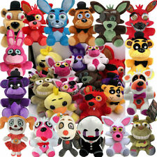 FNAF Five Nights at Freddys Plush toy Bear Foxy Bonnie Chica Animal kids Gifts