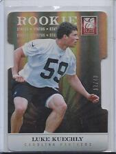 LUKE KUECHLY 2012 ELITE STATUS GOLD DIE CUT ROOKIE RC #D 17/40