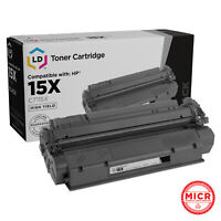 LD Compatible MICR Toner Cartridge Replacement for HP 15X C7115X High Yield