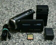 Panasonic HC-V180 HD 1080p 60fps Camcorder Bundle 50x W/ Extras 32GB Tested FRSH