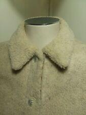 Orvis Vest Women's Size XS Ivory Button Up Pockets Long Sleeve Vest