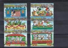 Serie Disney postfris MNH St. Vincent: Mickey Minnie Donald Goofy (dis007)