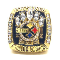 2005 Pittsburgh Steelers Championship rings NFL