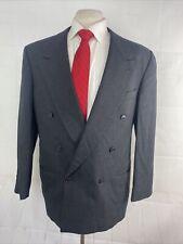Armani by Giorgio Armani Men's Gray Textured Wool Blazer 44R $438