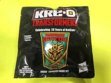 TRANSFORMERS 2014 BOTCON 6 KRE-O FIGURES SOUVENIR SEALED SET TFCC CLUB
