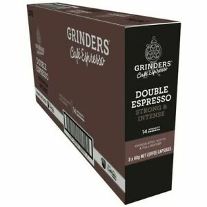 Grinders Double Espresso Coffee Pods Caffitaly Machine Capsules Espresso x 80