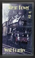 Steam Power In The West Country (VHS) Railway Video Tape ~ Globe Films ~ PAL