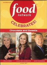 DVD - Food Network: Celebrates! Chocolate and Sweets (DVD, 2009, 3-Disc Set)
