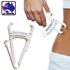 Body Fat Caliper Skin Fold Measurement Weight Loss Health Fitness Gym TSQU57001