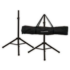Podium Pro SS1 PA DJ Karaoke Band Steel Speaker Stand Pair with Bag SS1B-PR