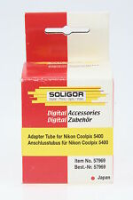 Soligor Anschlusstubus / Adapter Tube für Nikon Coolpix 5400, 52mm